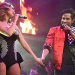 Dulce Maria e Christian Chávez Relembram Hits do RBD em Show