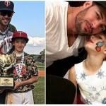 William Levy Posta Fotos com os Filhos no Instagram