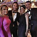 Angelique Boyer e Sebastián Rulli Vão ao Casamento da Ex do William Levy