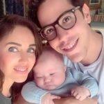 Christian Chávez conhece filho da Anahí