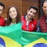 Fã Brasileiro Conhece Angelique Boyer e Sebastián Rulli e Fica Encantado