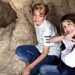 Elizabeth Gutiérrez Posta Fotos dos Filhos em Israel