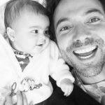 Bárbara Mori, a Rubi, posta uma foto da sua neta com o seu irmão no Instagram
