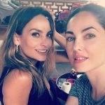 Bárbara Mori e Fabiola Campomanes compartilham vídeos juntas