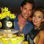 Angelique Boyer e Sebastián Rulli comemoram aniversários com uma grande festa