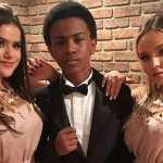 Maisa Silva posta fotos ao lado da Larissa Manoela e Jean Paulo e relembra o passado