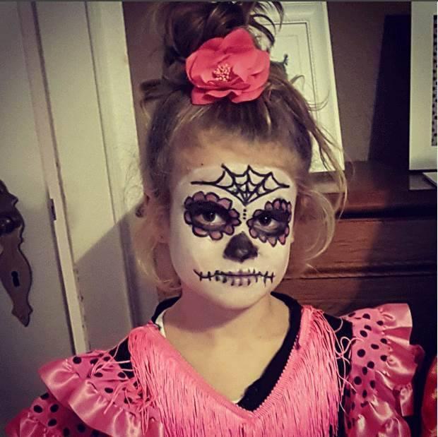 Pinturas faciais de halloween para crian as 10 dicas na - Pinturas para halloween ...