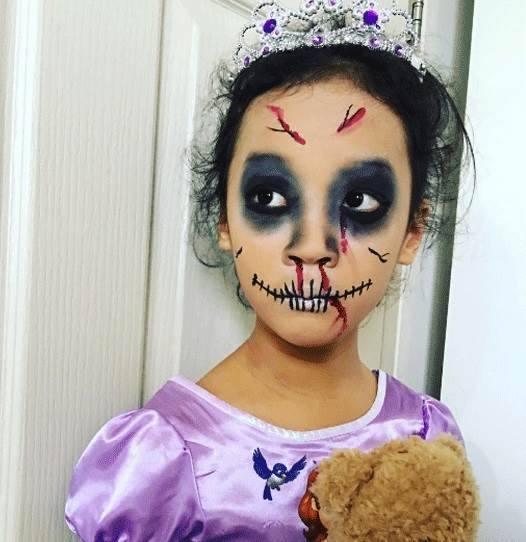 Pinturas faciais de halloween para crian as 11 dicas na - Pinturas para halloween ...