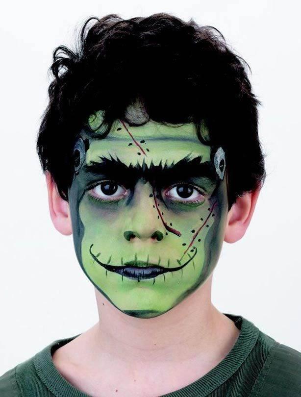 Pinturas faciais de halloween para crian as 2 dicas na - Pinturas para halloween ...
