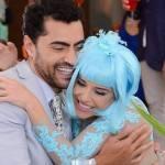 Carlo Porto, o Gustavo de Carinha de Anjo, pode estar namorando Priscila Sol, a Tia Perucas