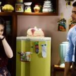 Em Carinha de Anjo: Cecília discute com Gustavo e perde o controle