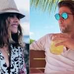 Paulina Goto e Horacio Pancheri de 'Um Caminho para o Destino' curtem férias na praia