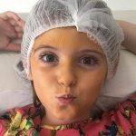Aos 6 anos, Lorena Queiroz, a Carinha de Anjo, já investe em tratamento de beleza