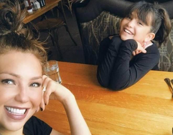 Tahlia e sua filha