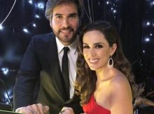 Jacqueline Bracamontes e Daniel Arenas se reencno Prêmio TV y Novelas