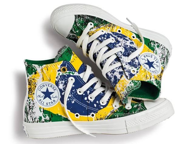91eeec741fd6 Linha de Tênis com as Cores do Brasil é Lançada pela Converse - Dicas na  Internet