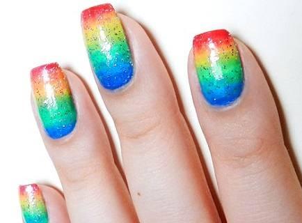 unhas-decoradas-arco-iris