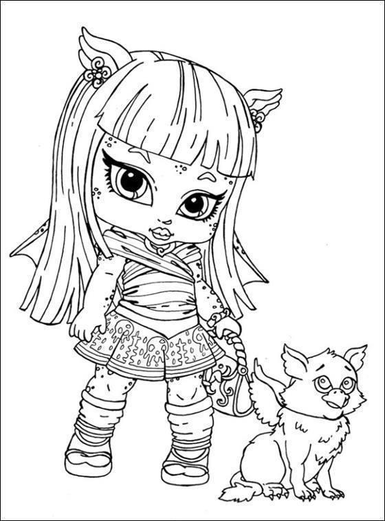 Desenhos Para Imprimir E Colorir Monster High Dicas Na Internet