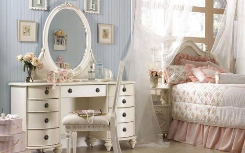 quartos-femininos-com-decoracao-vintage