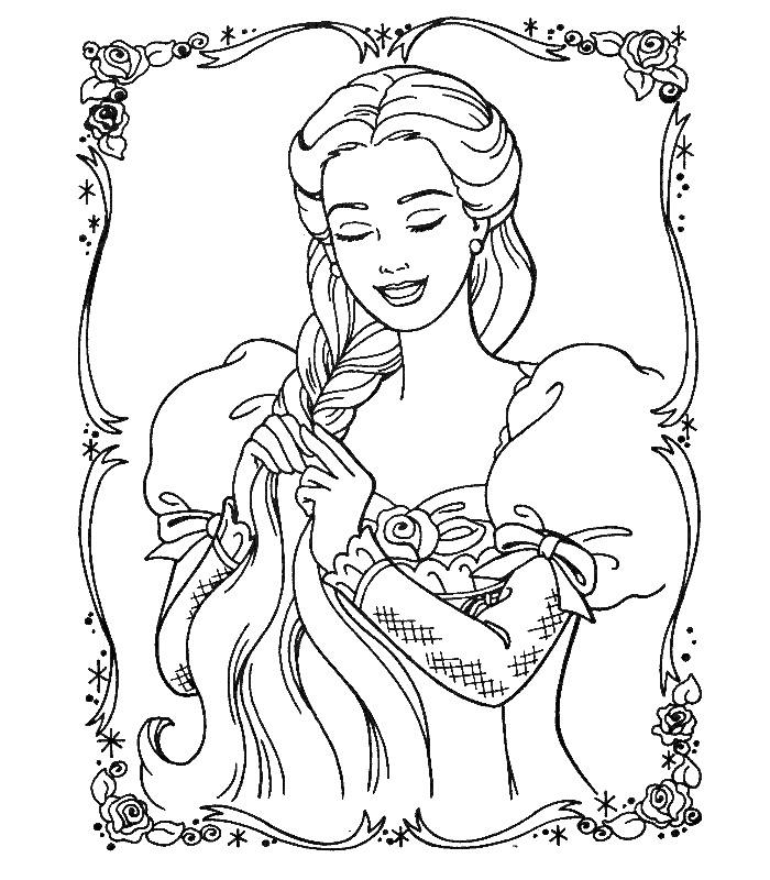 Desenhos Da Barbie Para Imprimir E Colorir Dicas Na Internet