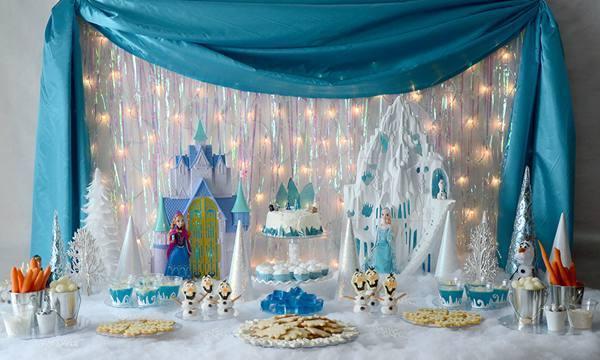 Decoração De Festa De Aniversário Infantil Tema Frozen Dicas Na