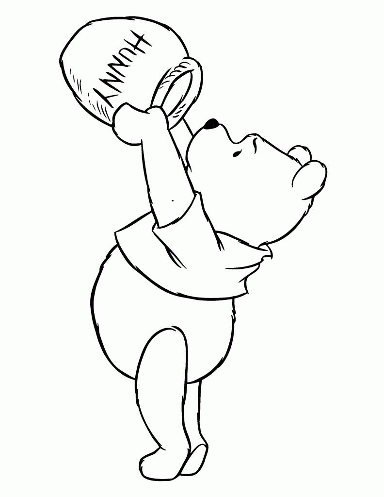 Desenhos Do Ursinho Pooh Para Colorir E Imprimir Dicas Na Internet