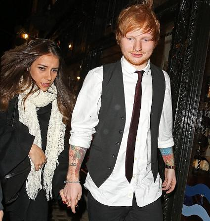 Ed Sheeran-termina-namoro