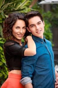 Bárbara e o filho Sergio