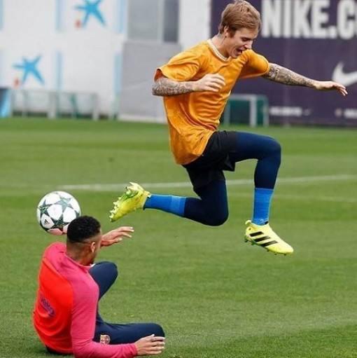 neymar-david-brazil-justin-bieber-treino-barcelona