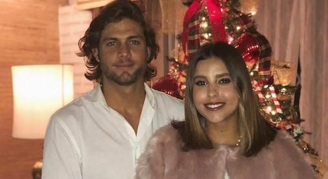 Paulina Goto e Horacio Pancheri