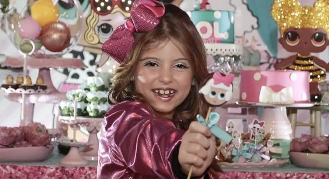 aniversário Lorena Carinha de Anjo