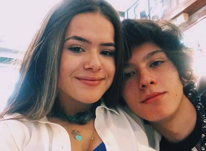 Maisa Silva, a Juju de Carinha de Carinha, e seu namorado