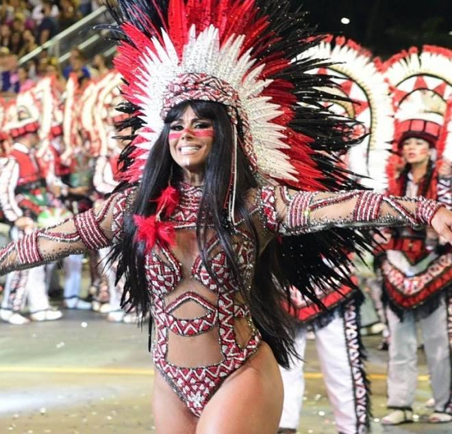 fantasias de Carnaval das famosas