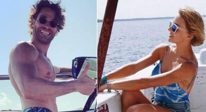 Sebastián Rulli festeja aniversário em alto mar ao lado de Angelique Boyer