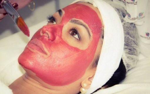 máscara de rubi