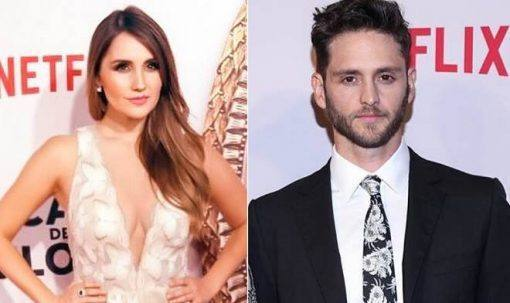 Dulce Maria e Christopher Uckermann