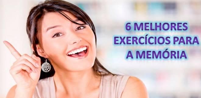 exercícios para a memória