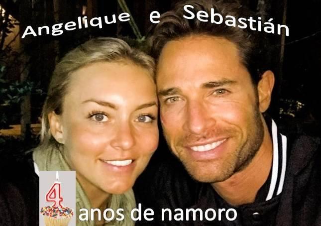 Angelique Boyer e Sebastián Rulli comemoram 4 anos