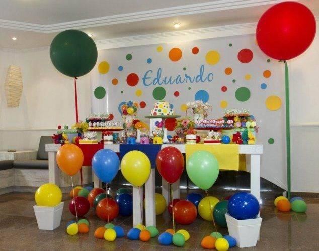 decoração de festa infantil barata