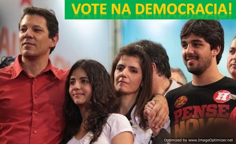 vote em Fernando Haddad