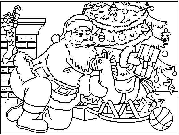 30 Desenhos De Natal Para Imprimir E Colorir
