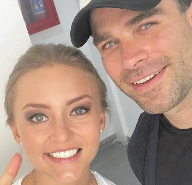 Angelique Boyer e  Alejandro Nones