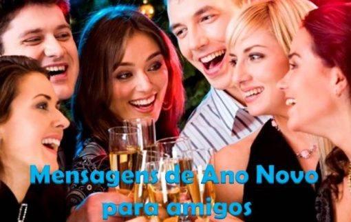 Mensagens de Ano Novo para amigos