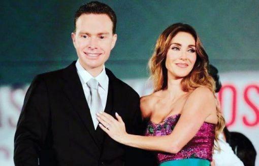 Anahí e seu marido