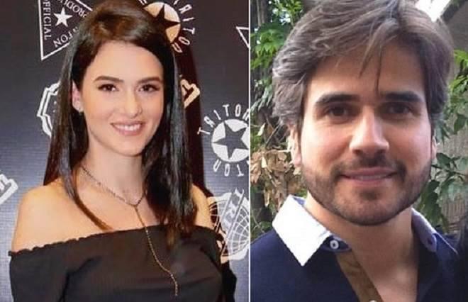 Daniel Arenas e Mikaelle Guluzian