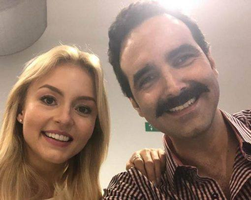 Angelique Boyer e Arturo Barba