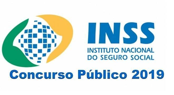 concurso do INSS 2019