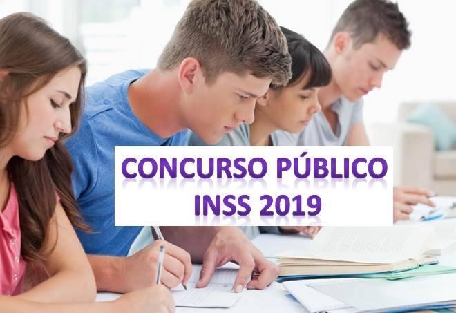 Concurso público inss 2019