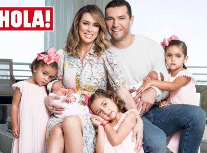 Jacqueline Bracamontes e sua familia