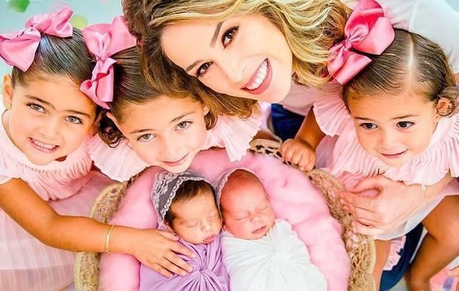 jacqueline bracamontes e suas filhas